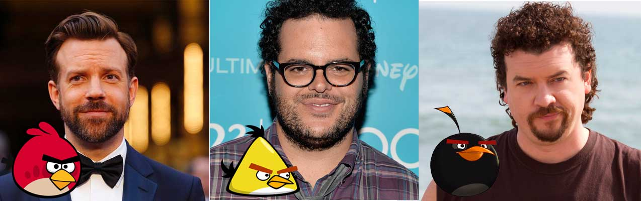 Angry Birds Movie 2015 Character and voice over