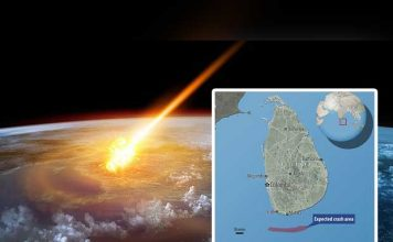 #UFO to crash into the #IndianOcean this November!