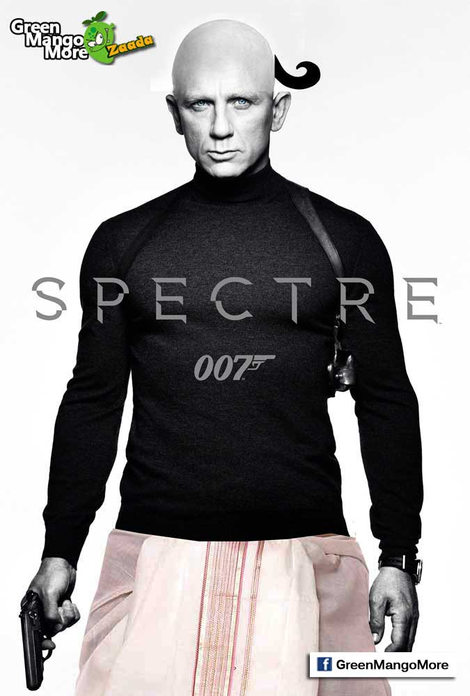 trolling the James Bond and CBFC on popular social media platform by using #SanskariJamesBond