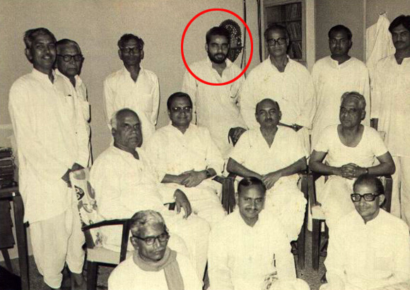 young days pics of narendra modi