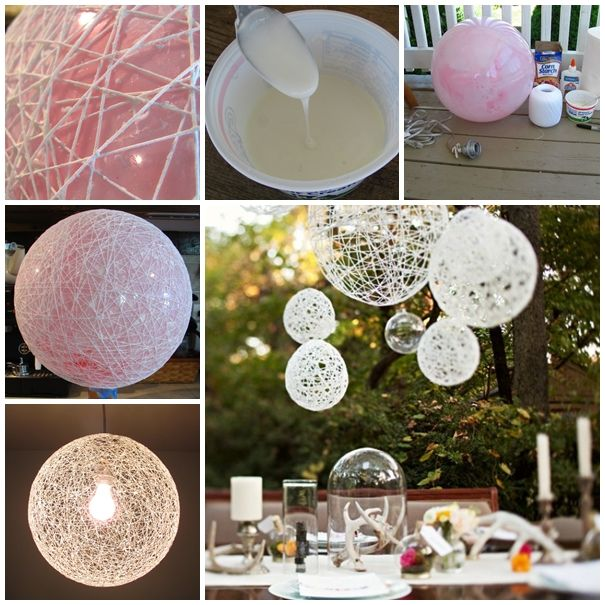 Wonderful DIY Yarn Ball Ornaments for Christmas