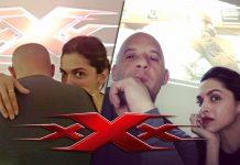 Deepika Padukone with Vin Diesel in his upcoming movie XXX