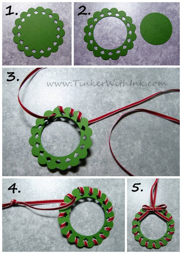Easy home made diy for christmas decoration for Decoration hole