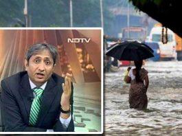Ravish kumar explain the reason of Chennai floods