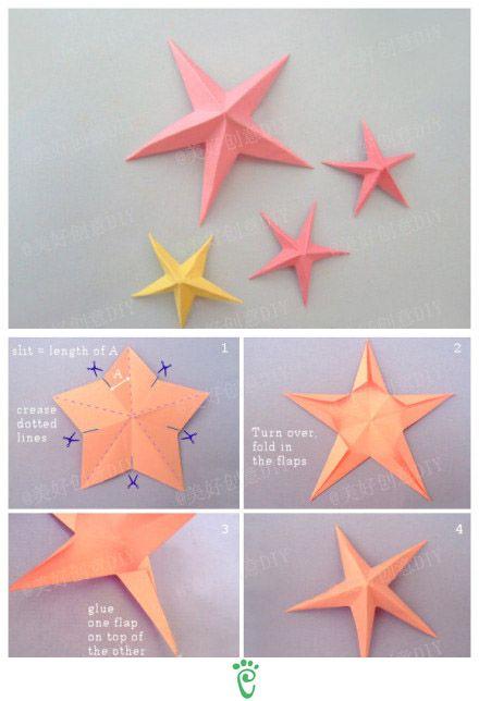 Paper Star 3D - DIY