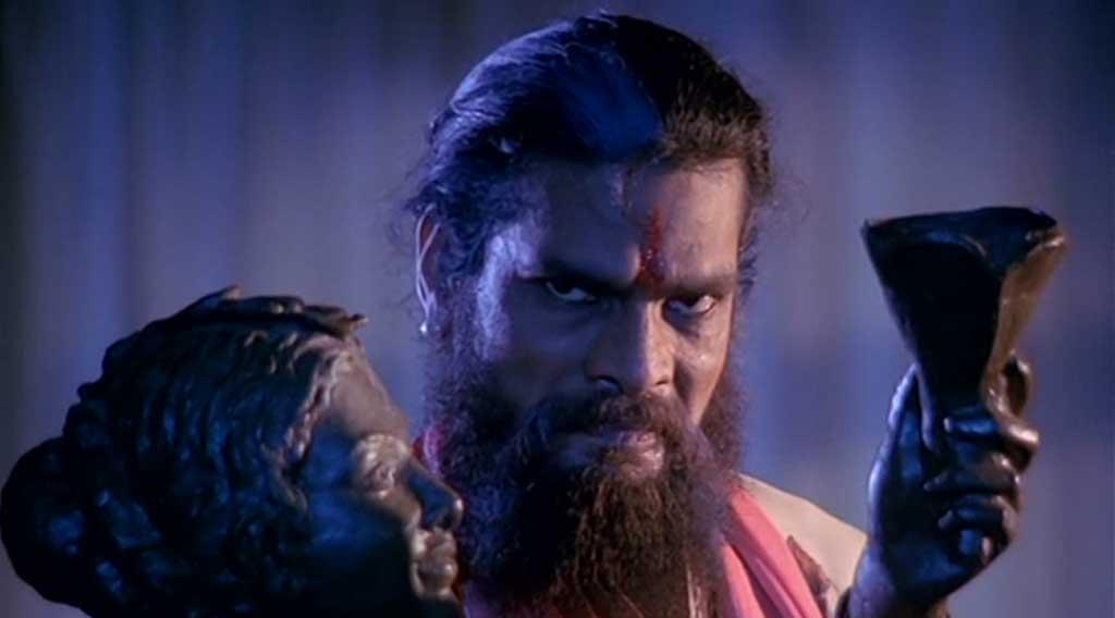 Veerana (1988) as taantrik Rajesh vivek