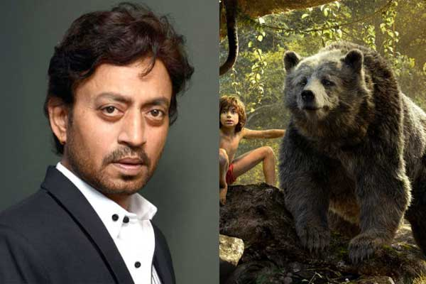 Irrfan khan as baloo in Jungle book