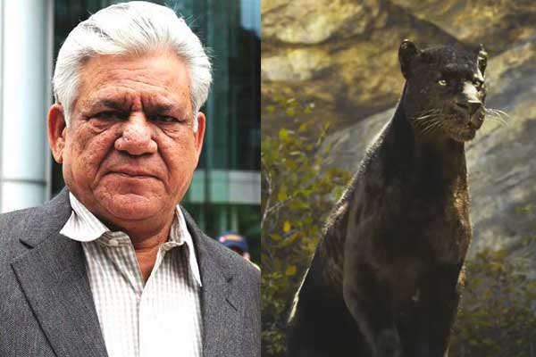 Om puri as bagira in Jungle book