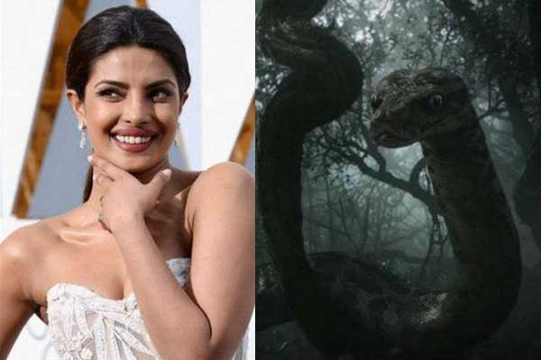 Priyanka chopra as kaa in Jungle book
