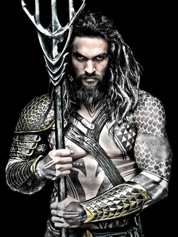 Jason Momoa of Game Of Thrones as Aquaman