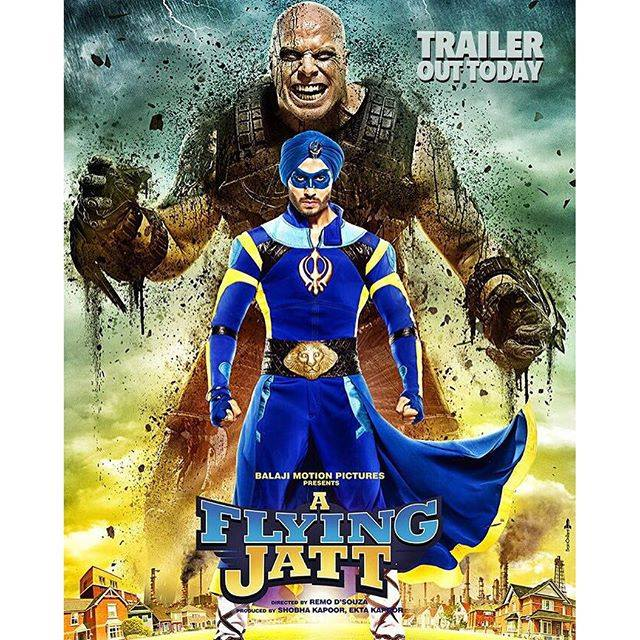 A flying jatt movie trailer