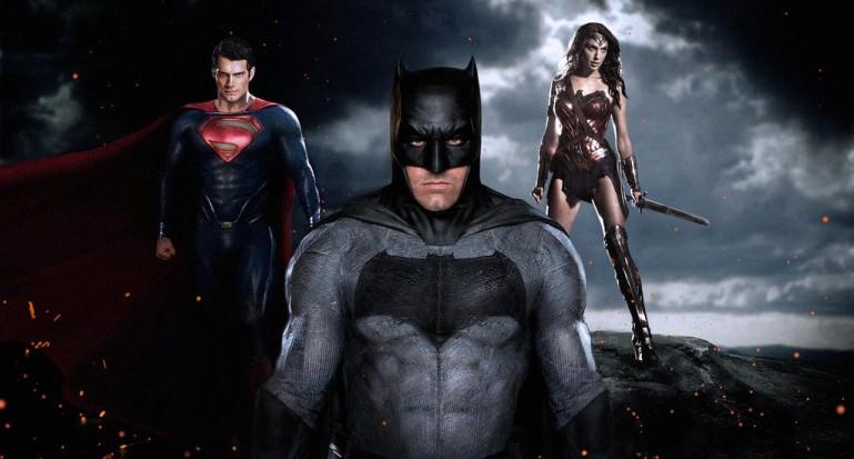 batman superman woderwoman in justice league