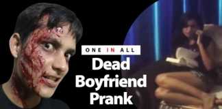 Dead boyfriend prank went wrong