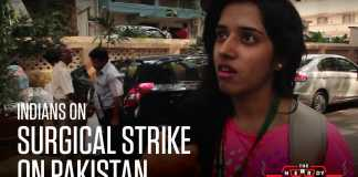 Indian Youth on surgical strike