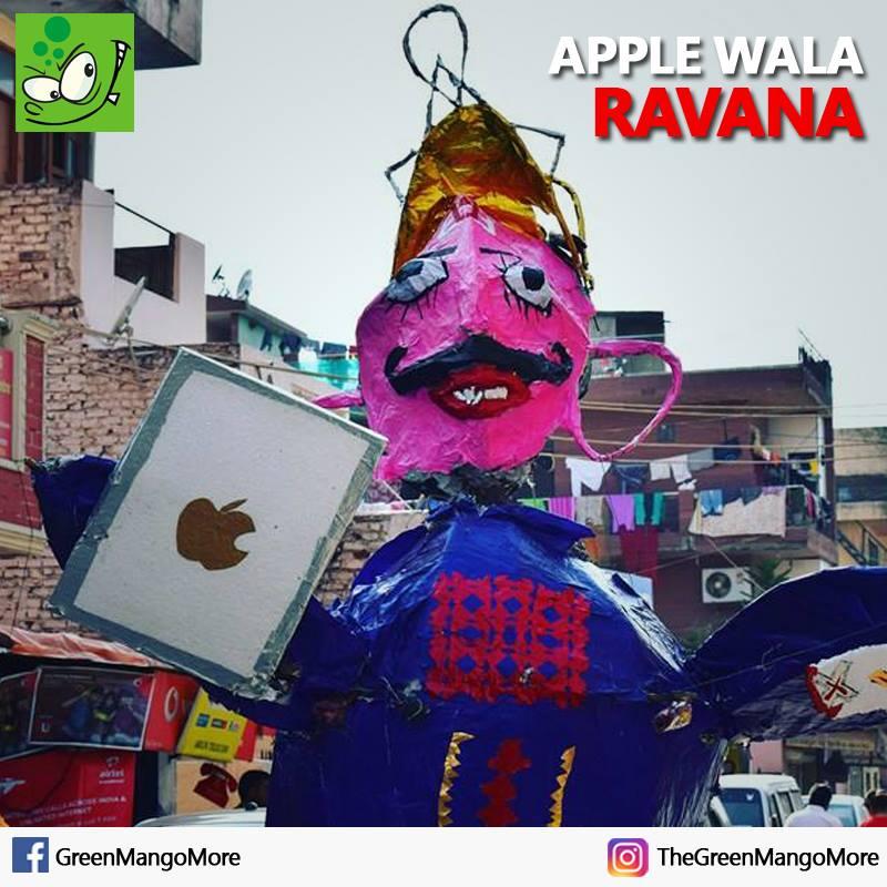 Apple wala Ravana