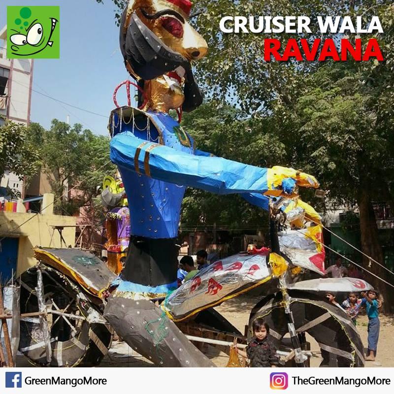 Cruiser (Bullet) wala Ravana