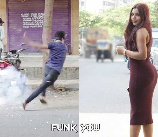 Diwali Bomb Patakha prank in India 2016