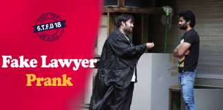 Lawyer prank in india
