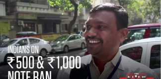 Indians on Rs.500, Rs.1000 Currency ban
