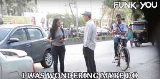 Homeless guy picking up girls prank