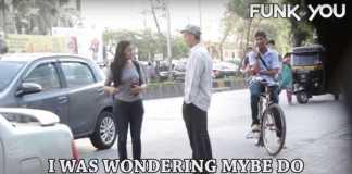 Homeless guy picking up girls prank