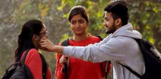 Hilarious pulling girls cheeks prank in India