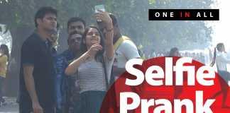 Hot Girl Taking Selfie With Strangers Prank