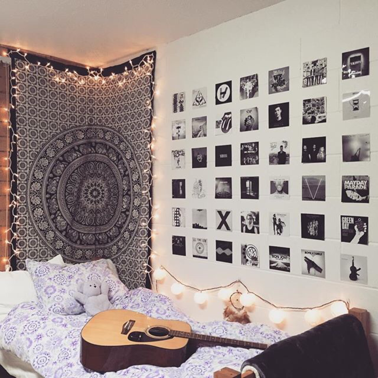 Tumblr bedroom ideas diy - This Is How You Can Convert Your Room Into A Beautiful Dorm Room Diy