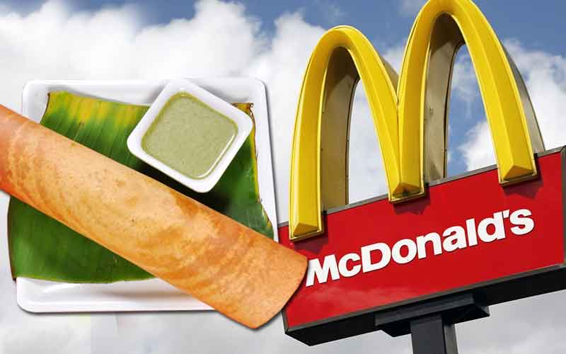 McDonalds is Adding Masala Dosa Burger to Their Menu! This how Twitter Reacts