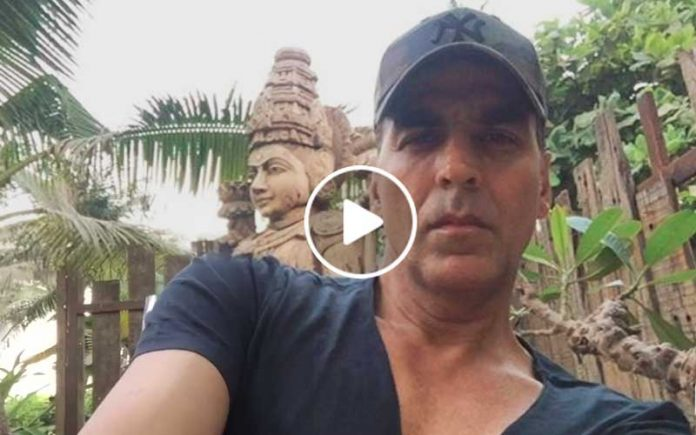 Akshay Kumar video message on toilet issue in india
