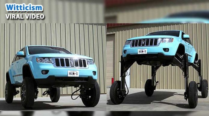 Hum Rider - Amazing car that will increase your car height instantly
