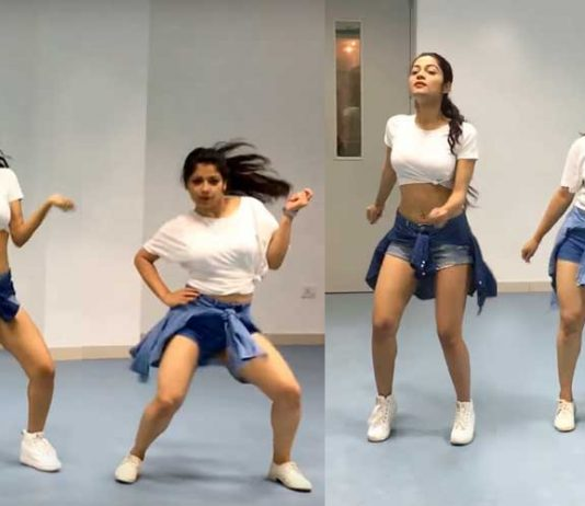 Hot dance on Shape Of You by two hot Indian girls