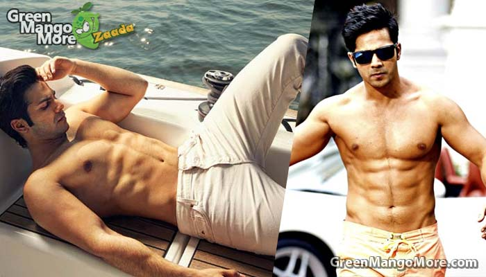 Varun dhawan in the list of top 10 best boady of bollywood