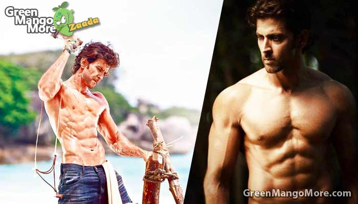 Hritik Roshan in the list of top 10 best boady of bollywood