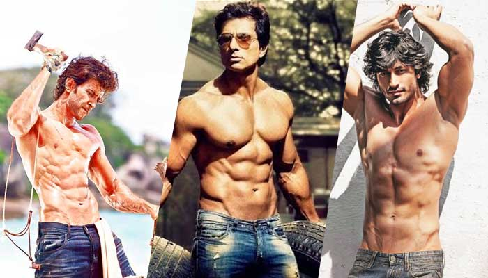 Top Top Bollyood Actors With Good Body Shape and Physic