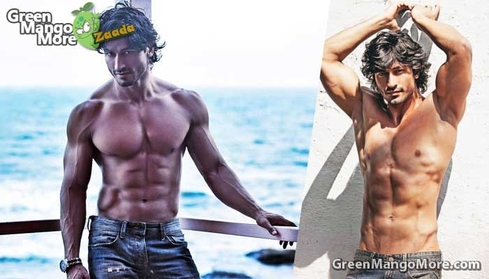 Vidyut Jamwal in the list of top 10 best boady of bollywood