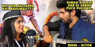 Rikshawali asking to Baahubali star cast Why did katappa kill Baahubali