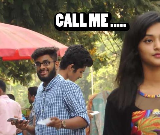 "Prank: Hot girl saying ""Call Me"""