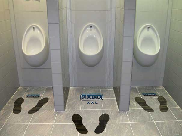 XXL Toilet - Durex Creative Advertisement | Durex Condom Advertising
