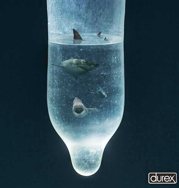 Shark - Durex Creative Advertisement | Durex Condom Advertising