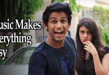 Funny vine, how music makes everything easy