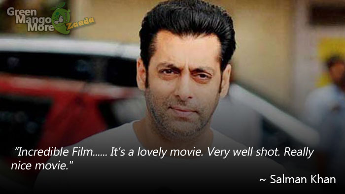 Salman Khan's Reaction on Baahubali Success