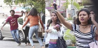 Watch this hilarious stealing girls's phone prank