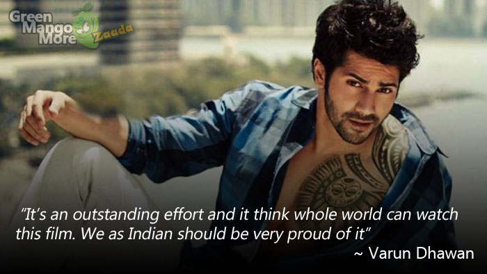 Varun Dhawan on Baahubali Movie's grand success