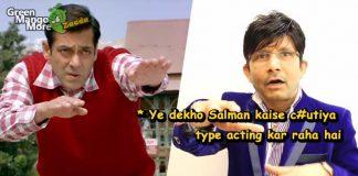 KRK called salman's acting in tublight movie, stupid