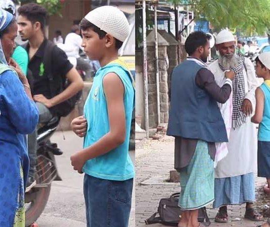 Muslim Boy asking for food during Ramzan, got amazing reaction