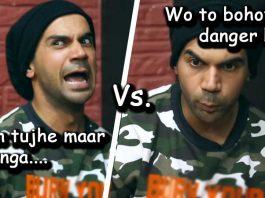 Rajkumar rao Bollywood vs Reality funny video