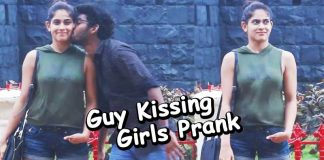 Watch this guy kissing girls prank in India