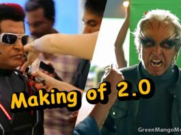 Watch the making of Robot 2.0 Movie