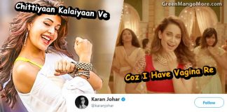 Karan Johar reacted to AIB and Kangna's Vagina song